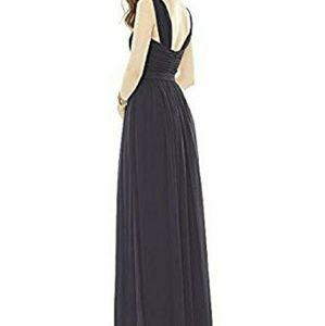 Alfred Sung Bridesmaid Dress D718 Onyx
